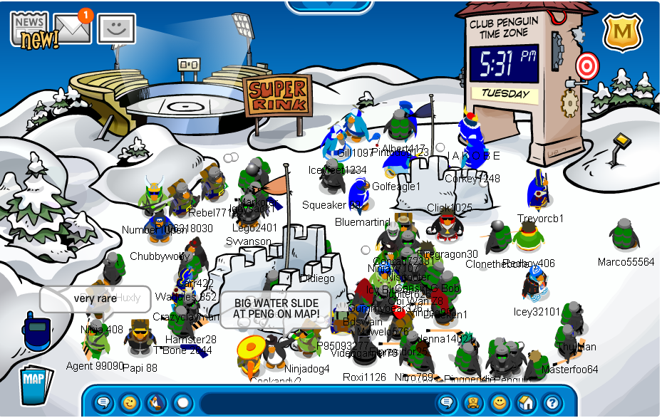 State of Emergency | Ice Warriors Army Of Club Penguin