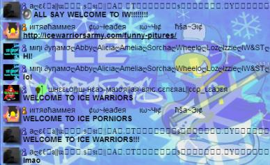 We are the legendary Ice Porniors!