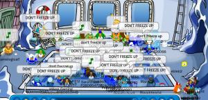 dont freeze up