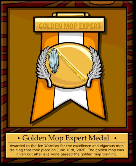 goldenmopmedal