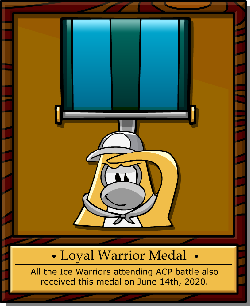 loyal warrior medal